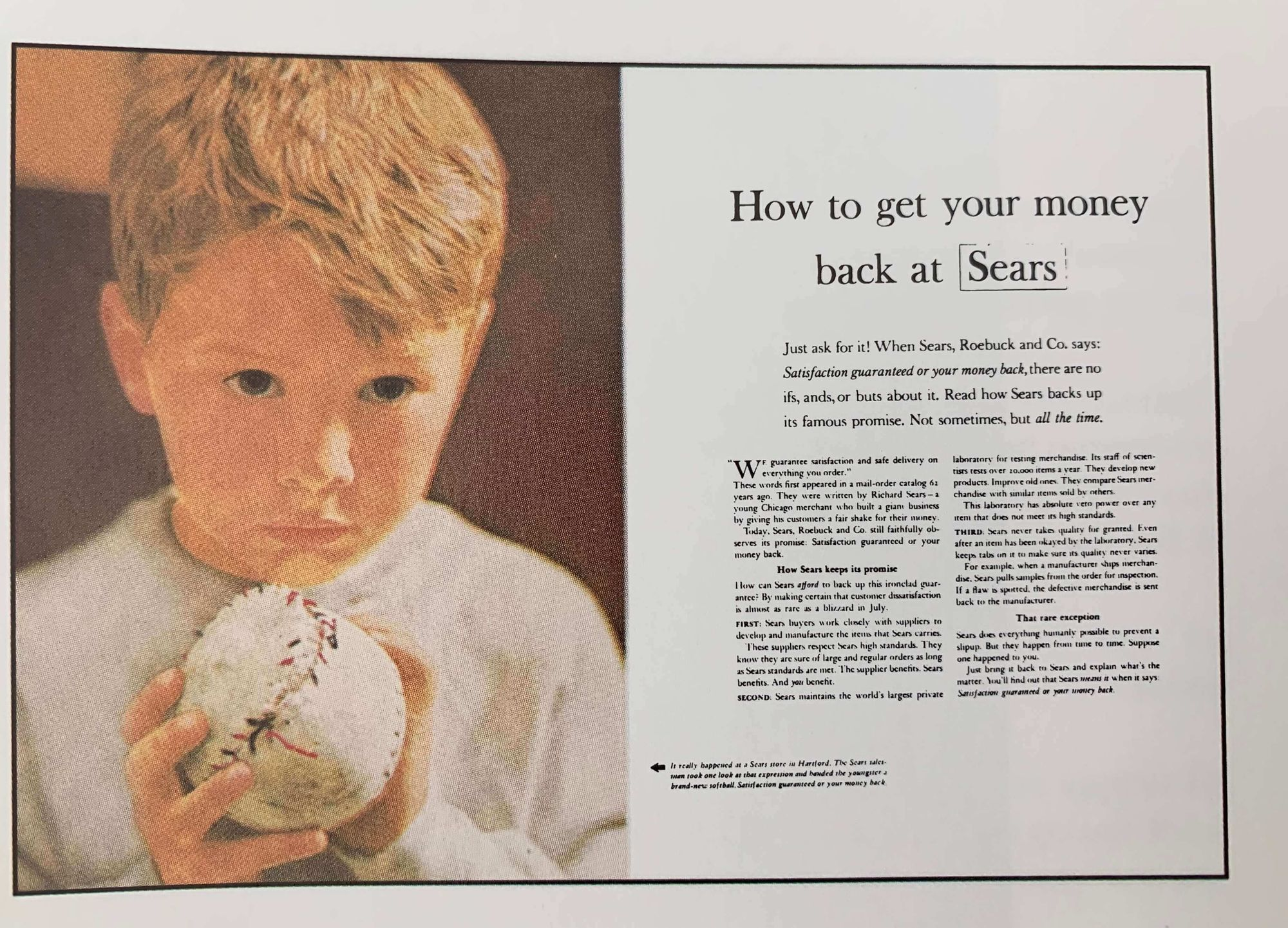 Sears' Ad by Ogilvy