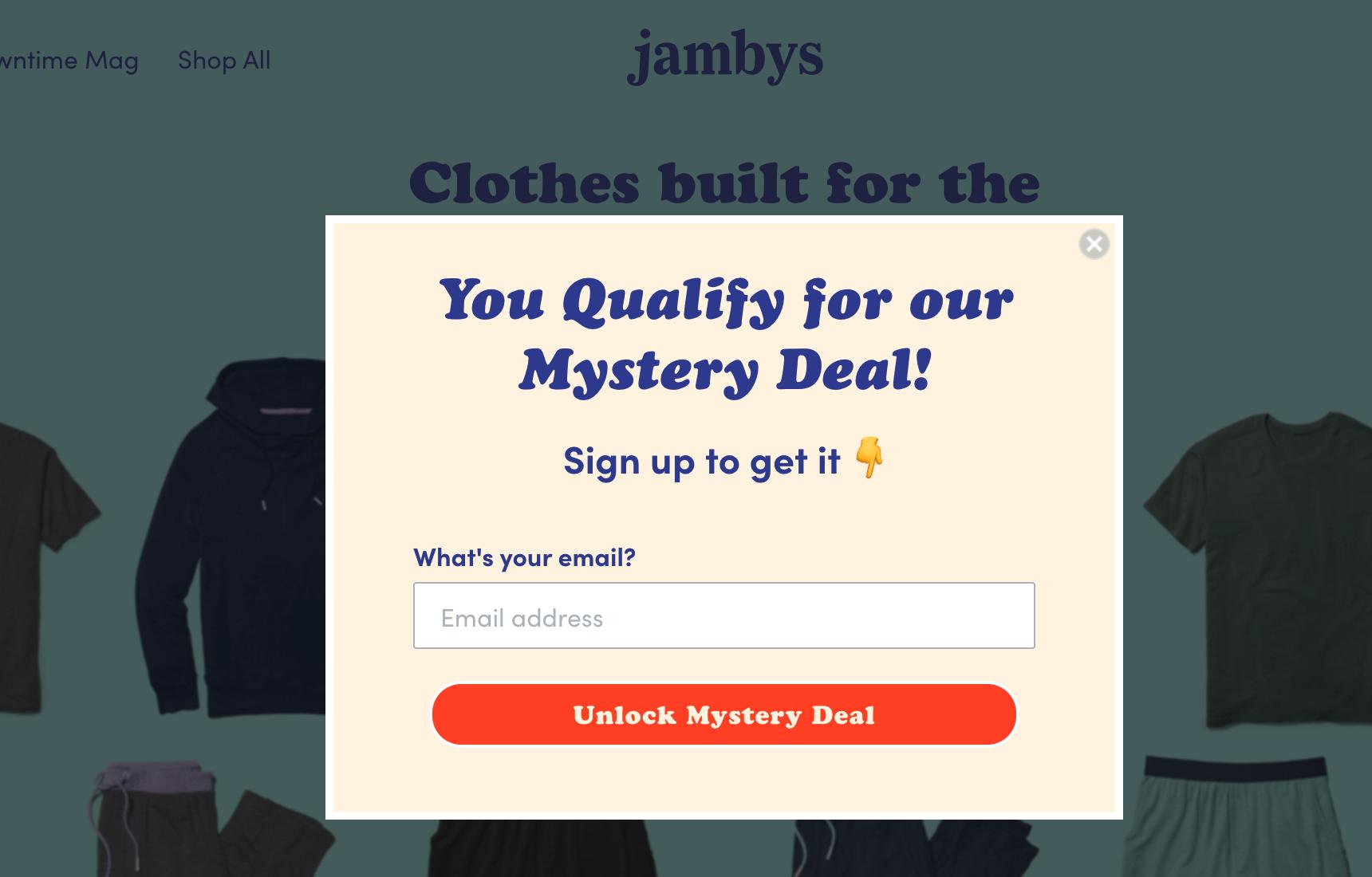 Mystery deal  - Jambys