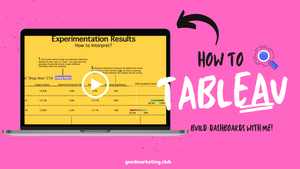[Video] Experiment Dashboard | How to Tableau
